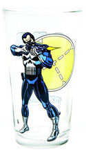 Image: Toon Tumblers Clear Pint Glass: Punisher  -