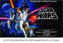 Image: Star Wars Wallpaper Mural: Trilogy XL  -