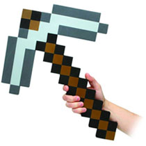 Image: Minecraft Foam Weapon: Pick Axe  -