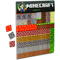 Image: Minecraft Sheet Magnets  -