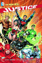 Image: Justice League Vol. 01: Origin SC  - DC Comics