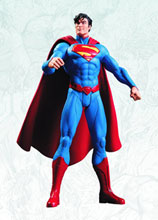 Image: Justice League DC Comics New 52 Action Figure: Superman  - DC Direct
