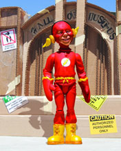 Image: Mad Just Us League Series 2 Action Figure: Alfred E. Neuman as the Flash  - DC Comics