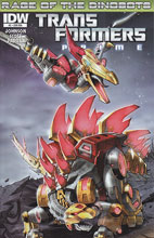 Image: Transformers: Prime - Rage of the Dinobots #2 (10-copy incentive cover) (v10)