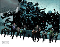 Image: Walking Dead Poster: No Way Out  - Image Comics