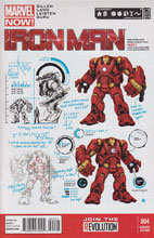 Image: Iron Man #4 (Pagulayan variant cover) (v25)