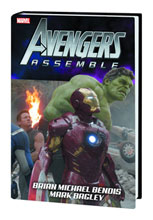 Image: Avengers Assemble by Brian Michael Bendis HC  (Movie DM variant)