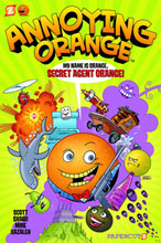 Image: Annoying Orange Vol. 01: Secret Agent Orange HC  - Papercutz