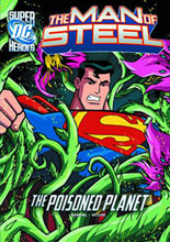 Image: DC Super Heroes - Man of Steel Young Readers: Poisoned Planet SC  - Capstone Press
