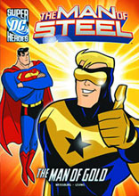 Image: DC Super Heroes - Man of Steel Young Readers: Man of Gold SC  - Capstone Press