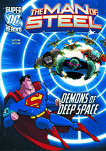 Image: DC Super Heroes - Man of Steel Young Readers: Demons of Deep Space SC  - Capstone Press