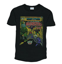 Image: Legion of Monsters T-Shirt [Black]  (XL) - Marvel Heroes Apparel