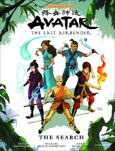 Image: Nickelodeon Avatar: The Last Airbender - The Search Library Edition HC  - Dark Horse Comics