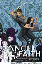 Image: Angel & Faith Vol. 05: What You Want, Not What You Need SC  - Dark Horse Comics
