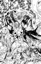 Image: Batman / Superman #6 (Black & White variant cover) - DC Comics