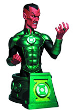 Image: Blackest Night Bust: Sinestro as Green Lantern  - DC Comics