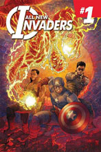 Image: All-New Invaders #1 by Singh Poster  - Marvel Comics