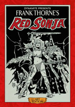 Image: Frank Thorne Red Sonja Art Edition HC  (signed) - Dynamite