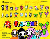 Image: Tokidoki Frenzies Classics 30-Piece Blind Mystery Box Display  -