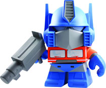 Image: The Loyal Subjects x Transformers Optimus Prime 8-inch Vinyl Figure  -