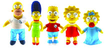 Image: Simpsons 25th Anniversary Plush: Bart  (24-inch) -