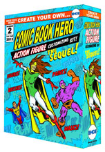 Image: Create Your Own Comic Book Hero Sequel Action Figure Kit  -