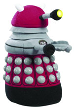 Image: Doctor Who Medium Talking Plush: Burgundy Dalek  -