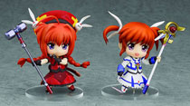 Image: Magical Girl Lyrical Nanoha: Innocent Nanoha & Vita Nendoroid Petite 2-Pack  -