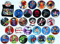 Image: DC Comics Superheroes 144-Piece Button Assortment  -