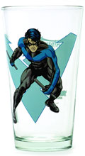 Image: Toon Tumblers Pint Glass: Nightwing  -