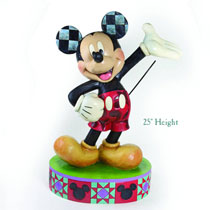 Image: Disney Traditions 25-inch Mickey Statue  -