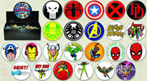 Image: Marvel Heroes 144-Piece Button Assortment  -
