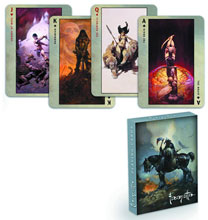 Image: Frank Frazetta Playing Cards: Death Dealer  - Dark Horse Comics