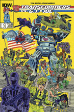 Image: Transformers vs. G.I. Joe Vol. 01 SC  - IDW Publishing