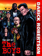Image: Art of the Boys: The Complete Covers by Darick Robertson HC  (signed) - Dynamite
