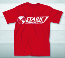 Image: Stark Industries: World Logo T-Shirt [Red]  (M) -