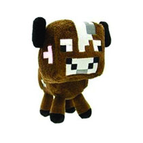Image: Minecraft Plush: Baby Cow  -