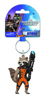 Image: Guardians of the Galaxy Soft Touch PVC Key Ring: Rocket Raccoon  -