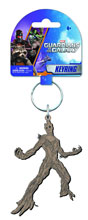 Image: Guardians of the Galaxy Soft Touch PVC Key Ring: Groot  -