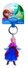 Image: Disney Frozen Soft Touch PVC Key Ring: Anna  -