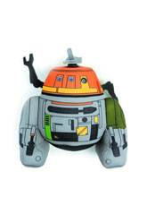 Image: Star Wars Rebels Super Deformed Plush: Chopper  -