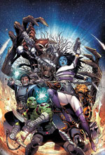 Image: Guardians of Infinity #1 by Cheung Poster  - Marvel Comics