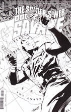 Image: Doc Savage: The Spider's Web #1 (Torres b&w incentive cover - 01041) (10-copy) - Dynamite