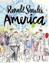 Image: Ronald Searle's America HC  - Fantagraphics Books