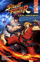 Image: Street Fighter Unlimited #1 (cover A - Genzoman) - Udon Entertainment Inc