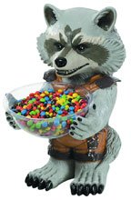 Image: Marvel Heroes Candy Bowl Holder: Rocket Raccoon  -
