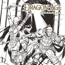 Image: Dragon Age Adult Coloring Book SC  - Dark Horse Comics