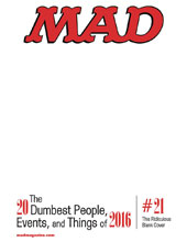Image: Mad Magazine #543 (variant cover - Blank) - DC Comics