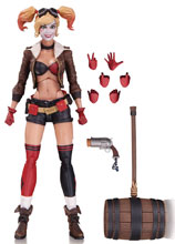 Image: DC Designer Series Action Figure: Ant Lucia DC Bombshells 02 - Harley Quinn  - DC Comics