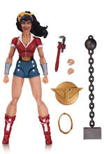 Image: DC Designer Series Action Figure: Ant Lucia DC Bombshells 01 - Wonder Woman  - DC Comics